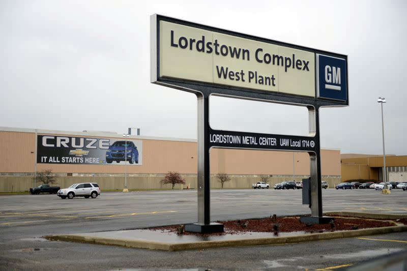 GM and LG Chem to build new battery plant in Lordstown area