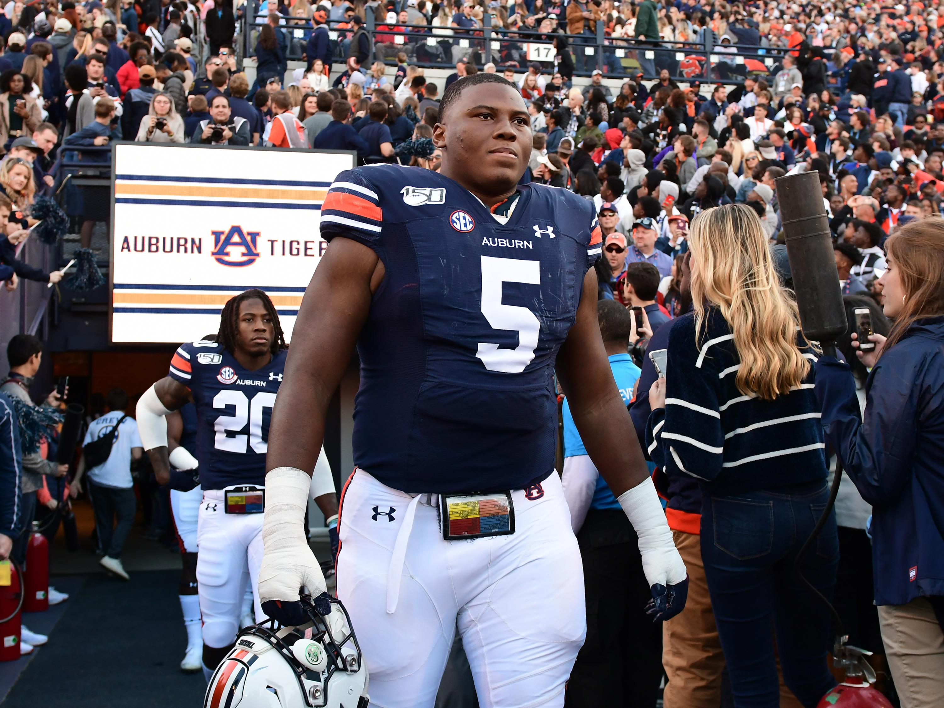 NFL draft winners and losers: Auburn's Derrick Brown shows he's an elite prospect