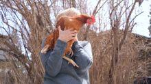 Family flaunts urban chicken flock despite ban in Calgary