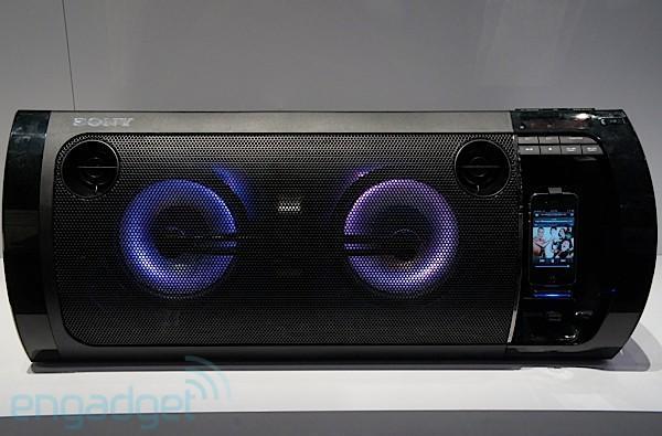 Sony Muteki RDH-GTK33iP shelf system ears-on (video)