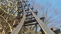 "Raw: Ride on ""First-of-it's-kind"" Mo. Coaster"
