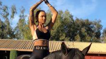 Pferdeyoga ist der neueste Trend für Wellness-Urlaube