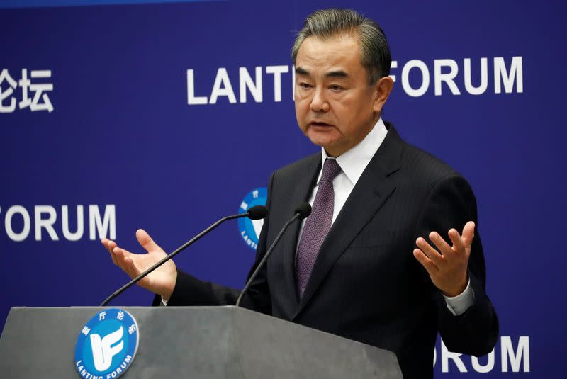 China warns Asian countries to be vigilant on U.S strategy in region