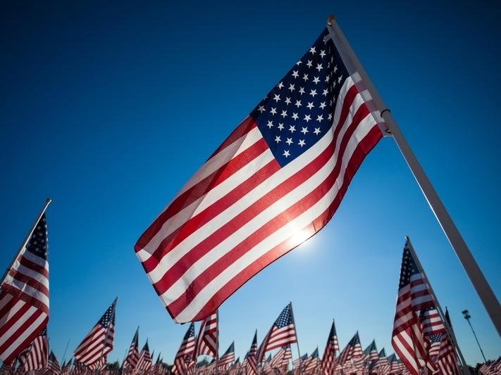 The traditional Veterans Day Observance is canceled in 2020, but those flags will still fly.