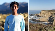 Family offer $64,000 reward after son swept out to sea