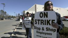 Stop & Shop supermarket workers in 3 states go on strike