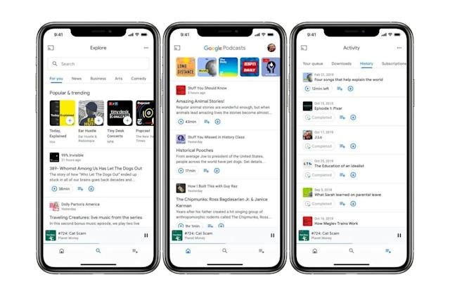 Google Podcasts for iOS updated with CarPlay support