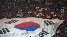 South Korean footballers fume over anthem blunder