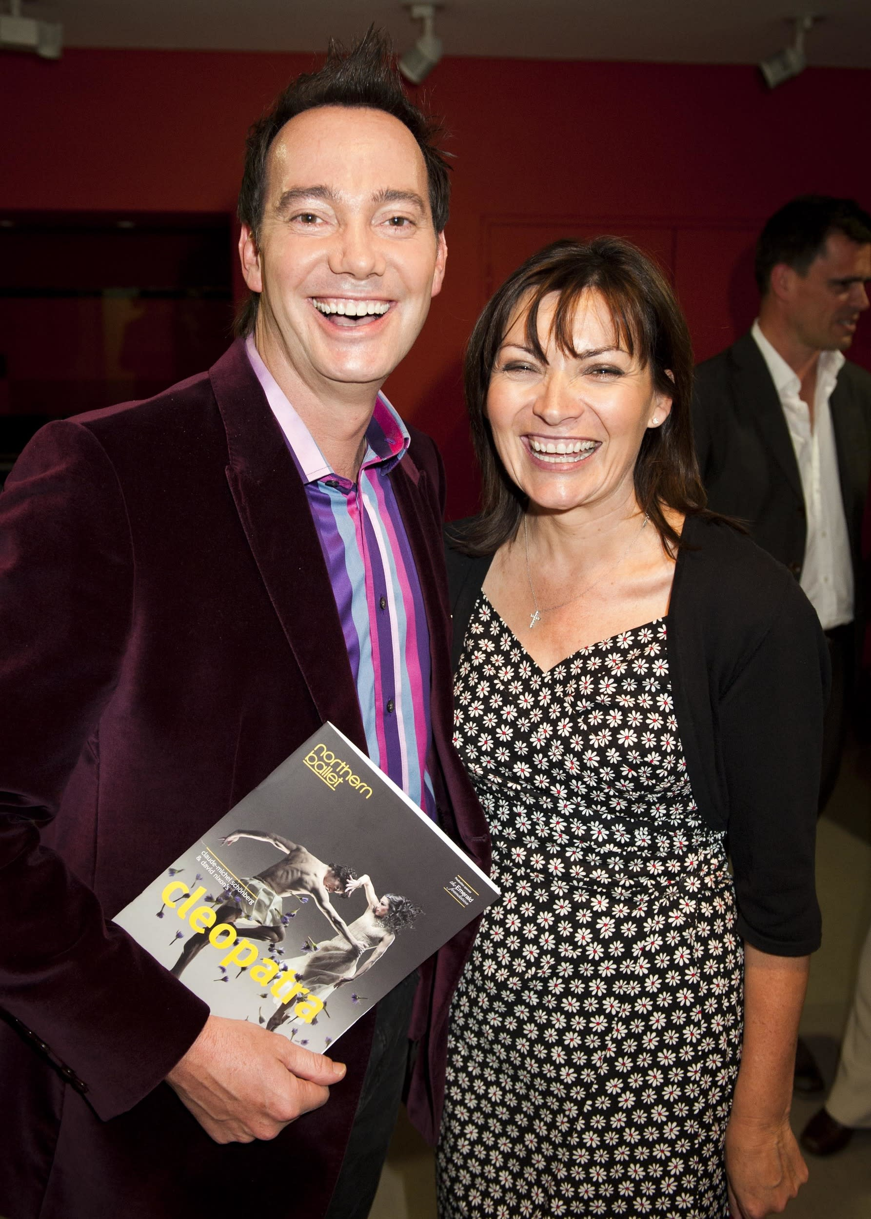 Craig Revel Horwood and Lorraine Kelly attend the opening night of Northern Ballet's Cleopatra at Sadler's Wells, London, 17th May 2011.