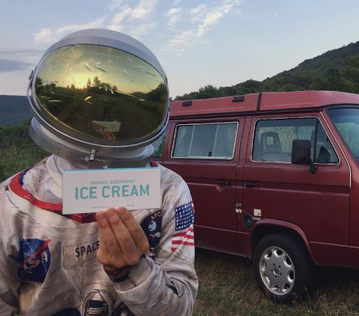 Travel-ready 'Gastronaut' ice cream bars don't melt, so you can take them anywhere