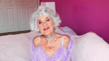 89-year-old Baddie Winkle is seriously sultry in Rihanna's lingerie line