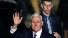 Pence arrives in Israel on visit overshadowed by Trump's Jerusalem declaration
