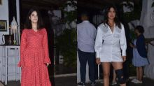 Red & White, Priyanka & Zaira's Dresses Can Spice Up Your Party Night