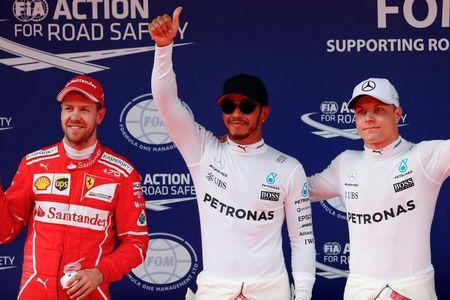 Hamilton logra la pole para el Gran Premio de China