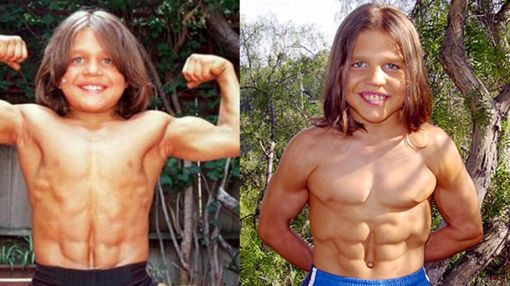 What Little Hercules Looks Like Now is Shocking