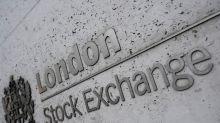 FTSE 100 gains on defensive rally, ends week lower on virus worries