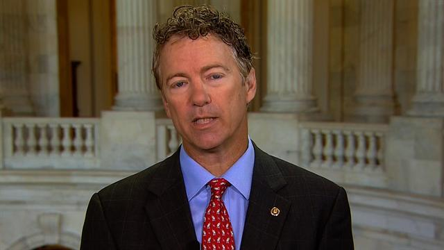 Sen. Rand Paul: I'm leaving my phone at home