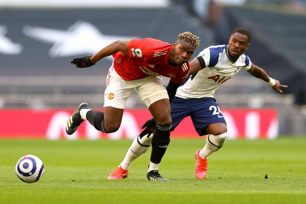 Jose Mourinho says Manchester United's Paul Pogba should have been sent off for 'elbow' at Tottenham