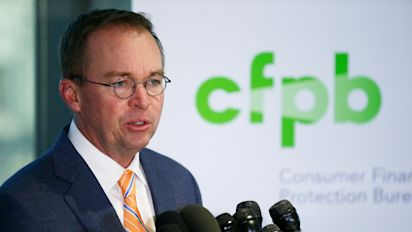US consumer protection agency seeks no new funds