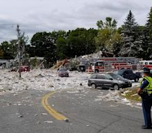 'A war zone': Propane explosion kills firefighter, injures 8 others, levels building in Maine