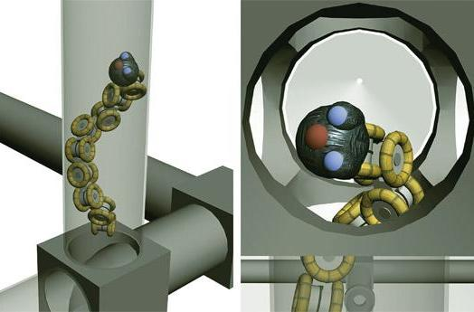 SINTEF scientists working up pipe inspection robot