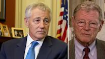 Sen. Inhofe: Hagel wrong on the issues