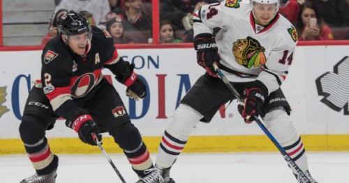 Hockey - NHL - Les Chicago Blackhawks s'offrent un peu d'air avec la défaite du Minnesota Wild