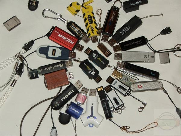 21 USB drives tested, 20 immediately misplaced