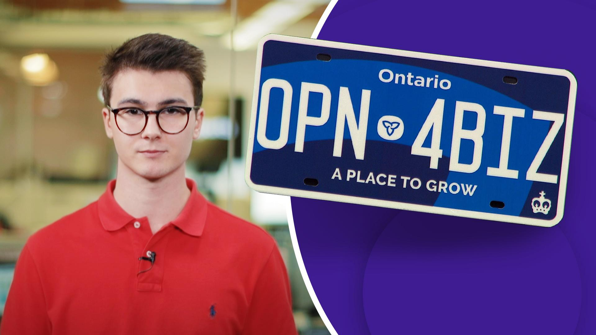 Public Safety Concern Ontario S Hard To See License Plate Is
