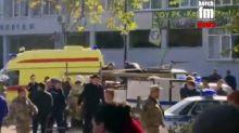 Terror oder Amok? Schüler tötet mindestens 17 Menschen auf der Krim