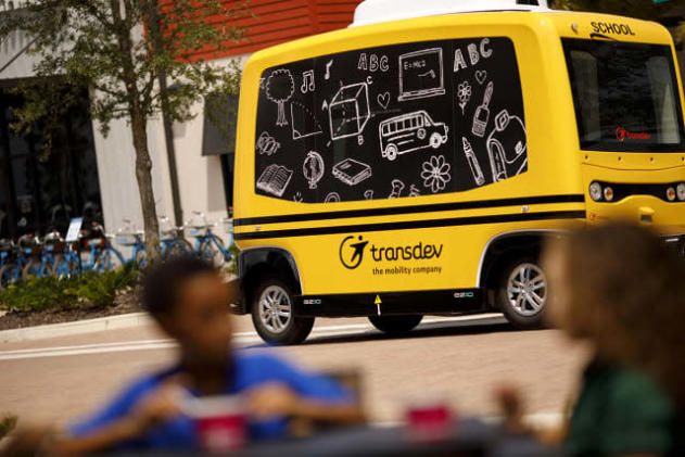 US DOT tells self-driving shuttle company to stop transporting kids