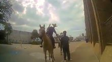 A Black man is suing a Texas city for $1 million after he was tied to police on horseback during an arrest