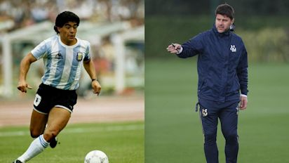 Pochettino recalls his time as Maradona's room-mate