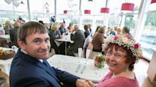 This couple tied the knot at their local Asda