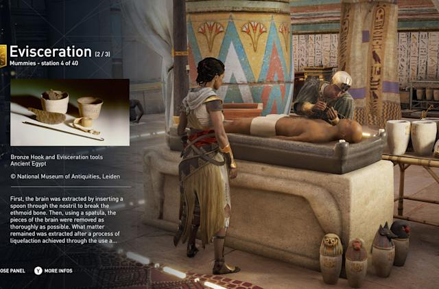 'Assassin's Creed Origins' adds history lessons in early 2018