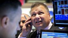 Dow slips 42 points as IBM and American Express fall, worries of government shutdown loom