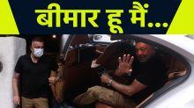 Sanjay Dutt Spotted at Hakim Alim Saloon Bandra