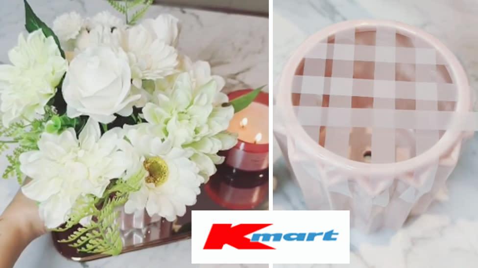 Kmart mum shares 'clever' vase taping hack: 'Fantastic!'