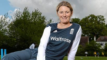 Charlotte Edwards: I'm batting for girls who want to play cricket in schools