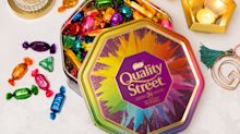 John Lewis' exclusive Quality Street tin is now available to buy online
