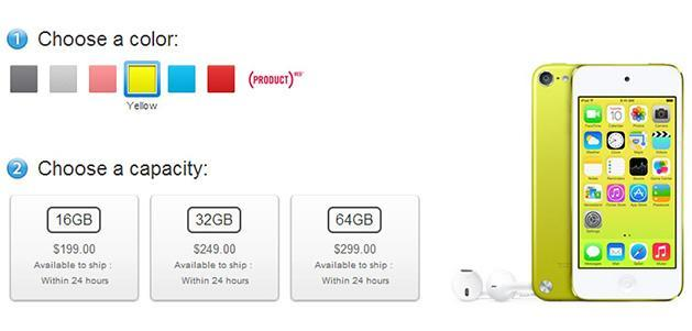 Apple drops iPod touch prices, adds a dash of color and iSight camera to 16GB model