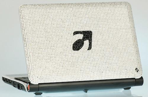 Smartbook AG launches absolutely gaudy $3,000 Swarovski-laden netbook