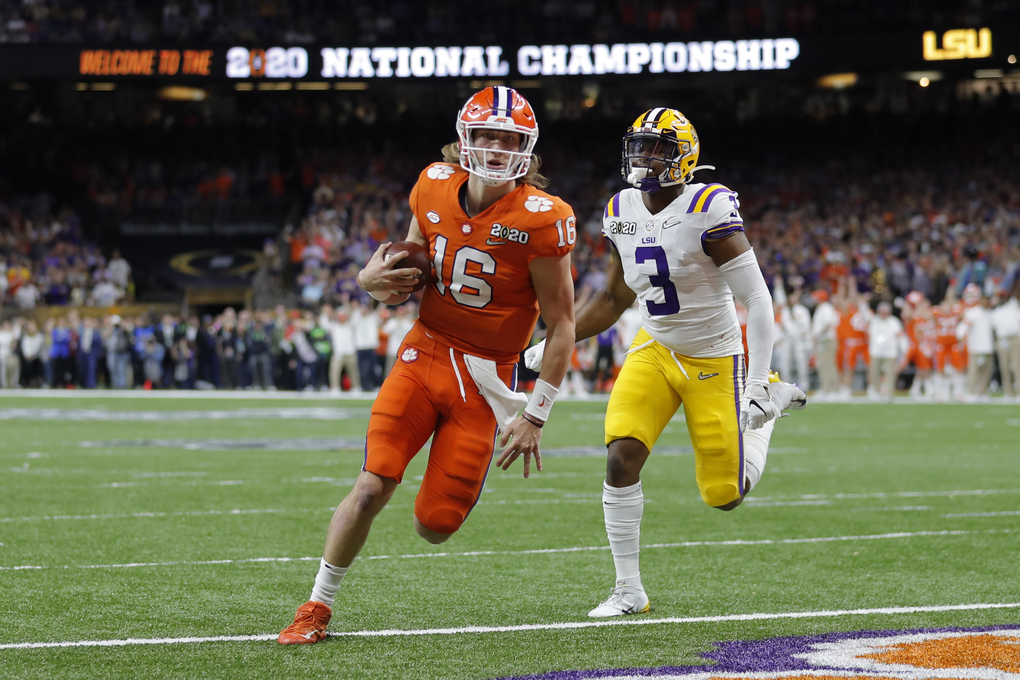 Yahoo Sports' preseason college football Top 25 (without the Big Ten and Pac-12)