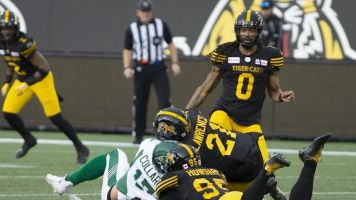 Arbitrator upholds CFL's suspension against Ticats' linebacker Lawrence