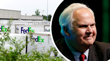 Risky way FedEx CEO saved his company from bankruptcy