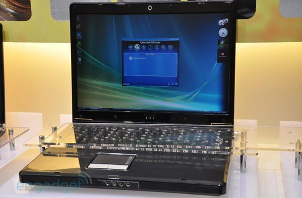 Core i7-packin' Clevo D900F gaming laptop hands-off