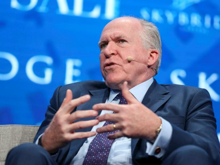 Backlash against Trump grows as almost 200 former US intelligence officials sign letter over Brennan security revocation
