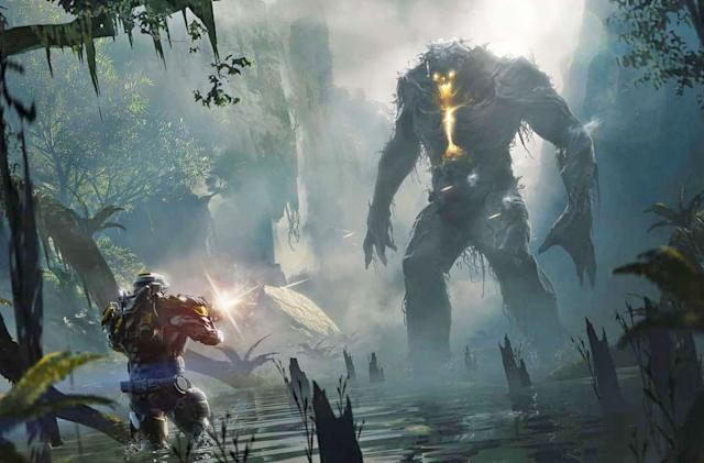 Watch 20 minutes of 'Anthem' gameplay in 4K