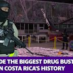 This is the biggest drug bust in Costa Rica's history