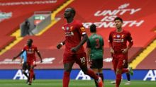 Mane boosts Liverpool's record hunt as Man City stumble at Southampton